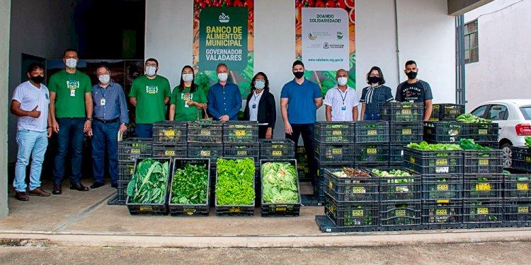 Banco de Alimentos firma parceria em Governador Valadares